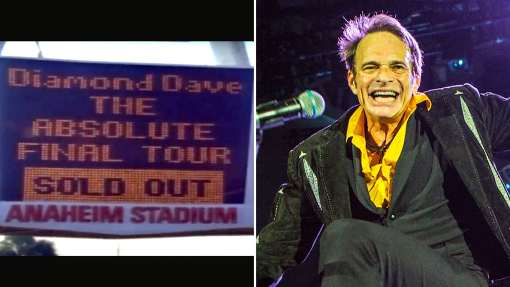 david lee roth predicted retirement 1991