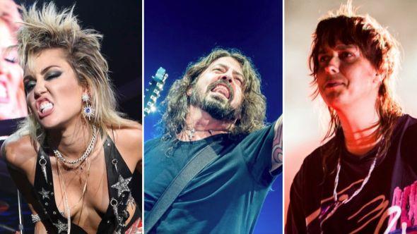 Miley Foo Fighters Strokes