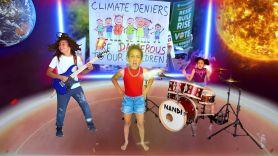 Nandi Bushell and Roman Morello climate song