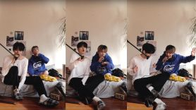 tomorrow x together yeonjun taehyun stay cover justin bieber the kid laroi live music video stream