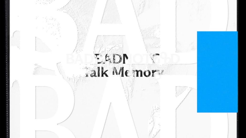 Talk Memory by Badbadnotgood album artwork cover art picture front text