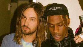 Travis Scott with Kevin Parker of Tame Impala