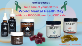 world mental health day flower lab cbd consequence shop store sale