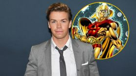 Will Poulter Guardians of the Galaxy Vol. 3 cast Adam Warlock, photo by Angela Weiss/AFP