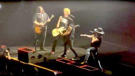 Wolfgang Van Halen performs with Guns N' Roses