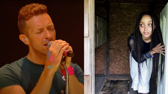 coldplay pinkpantheress cover just for me bbc radio 1 live lounge watch