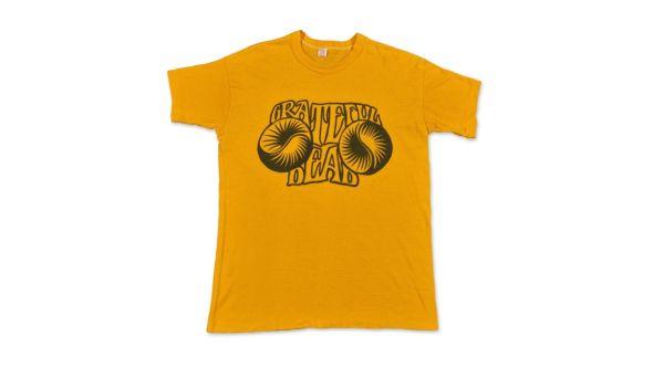 grateful dead vintage t-shirt record auction sotheby's